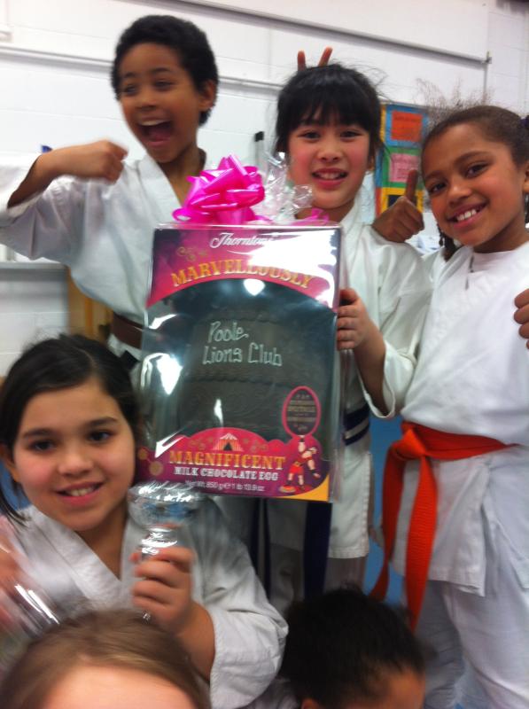 Kanku Karate Club Support Lions