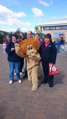 Club 21 ROAR around Paultons Park
