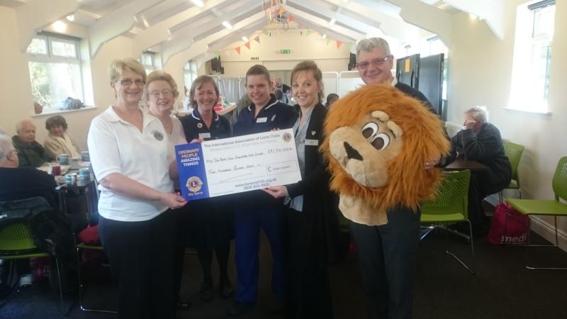 Lions support Best Foot Forward Leg Club