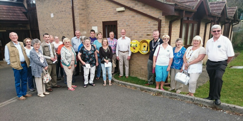 Supporting the Community with new Defibrilators