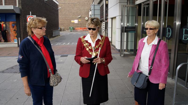 Borough of Poole Mayor supports World Sight Day