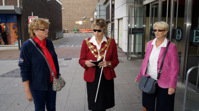 Borough of Poole Mayor supports World Sight Day