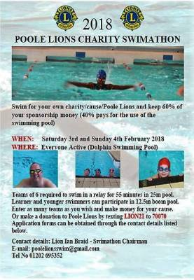 2018 Swimathon Registration