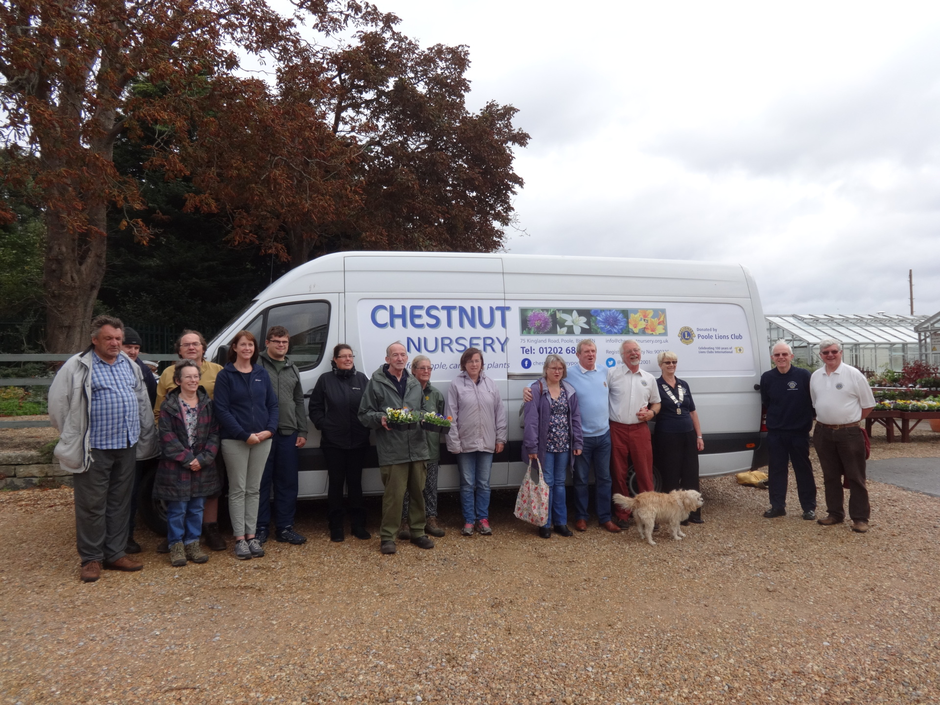 Vital Van for Chestnut Nursery