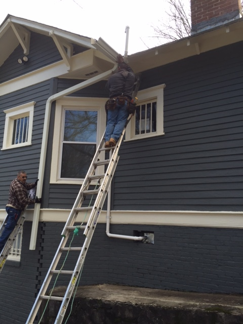 Residential Gutter & Downspout Installation