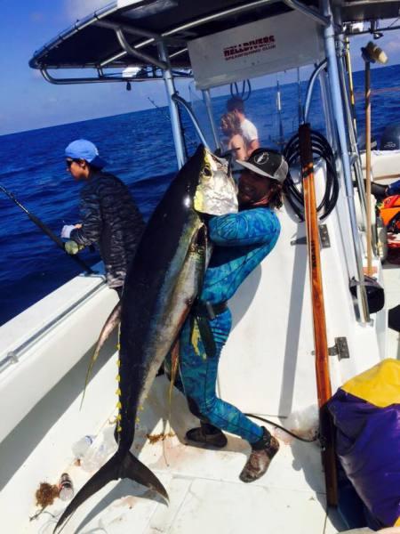 Ronnie, Yellowfin, Tuna, YFT