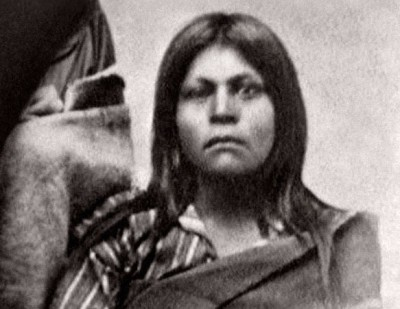 "A Native American woman believed by many to be the ""Lone Woman"" who came to be known as Juana Maria."