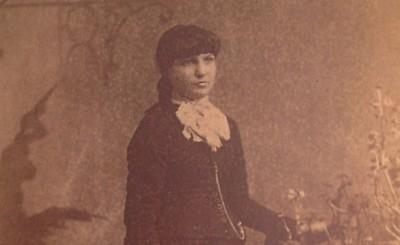 Kate Morgan, approx. 1886 (from Wikipedia)