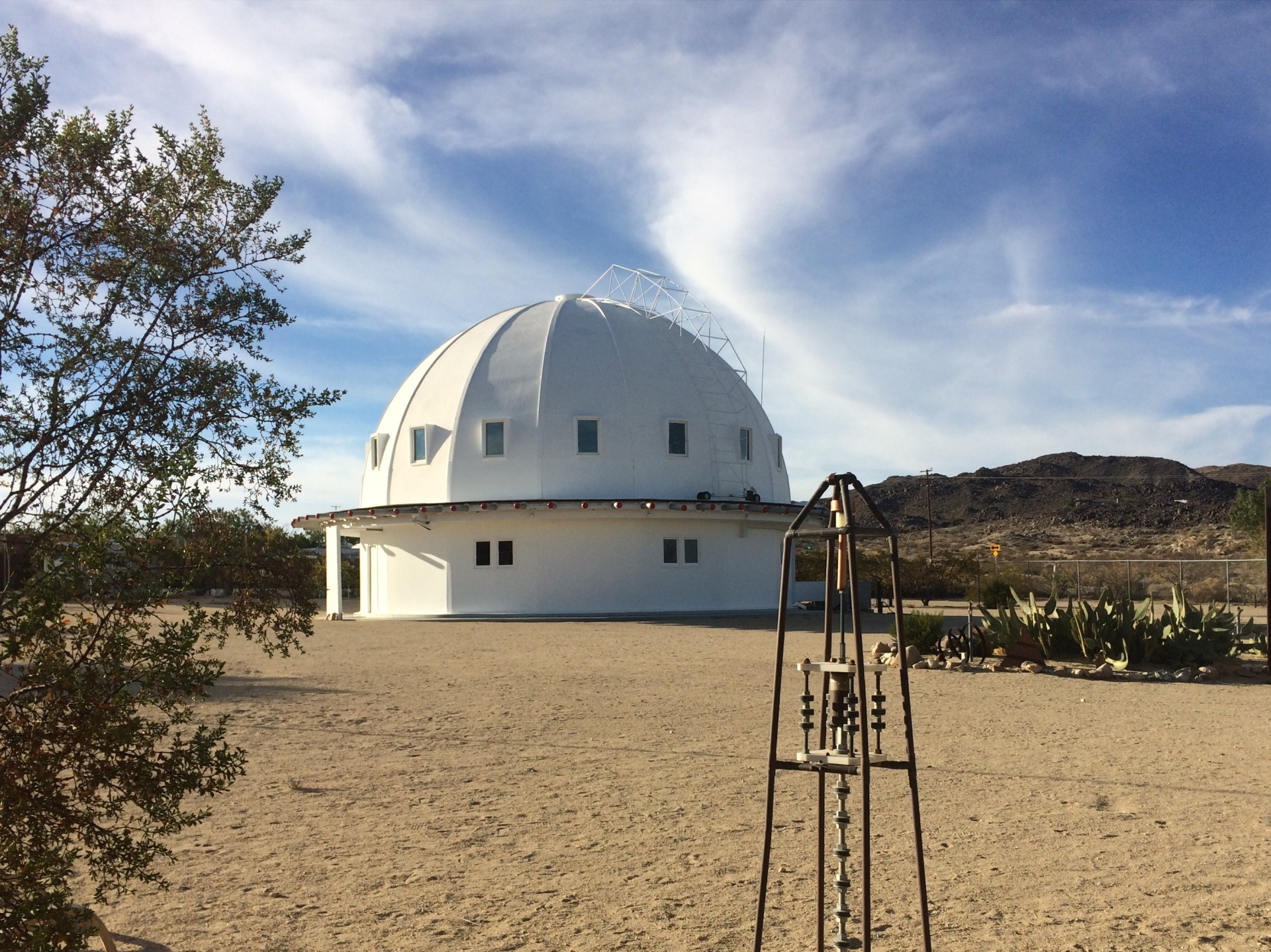 The Integratron photo by Susan Burns