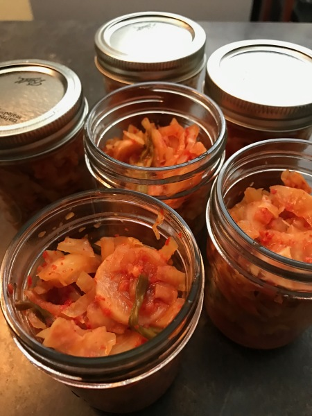 Sauerkraut and Kimchi: Really the same thing, just different…