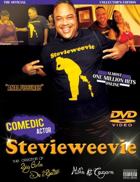 Comedian Stevie Weeevie Releases First DVD