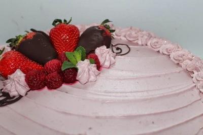 Un petit air de fraisier...