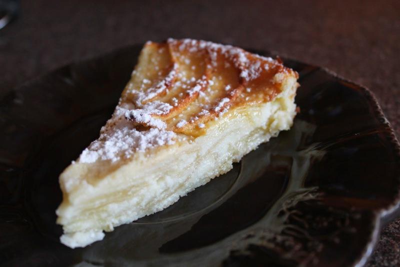 Gâteau pommes/ricotta