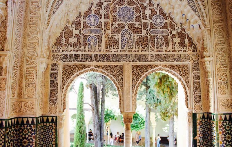 andalousie alhambra travel islamic art
