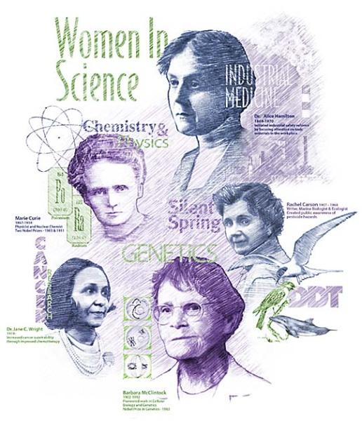 La contribution des femmes à la science