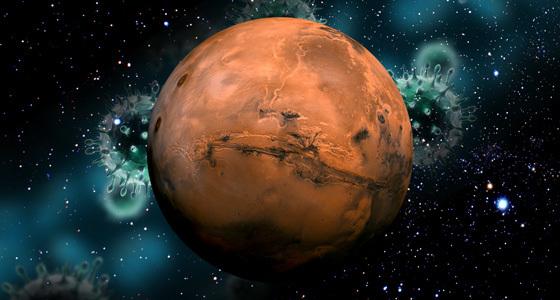 En route pour Mars!!