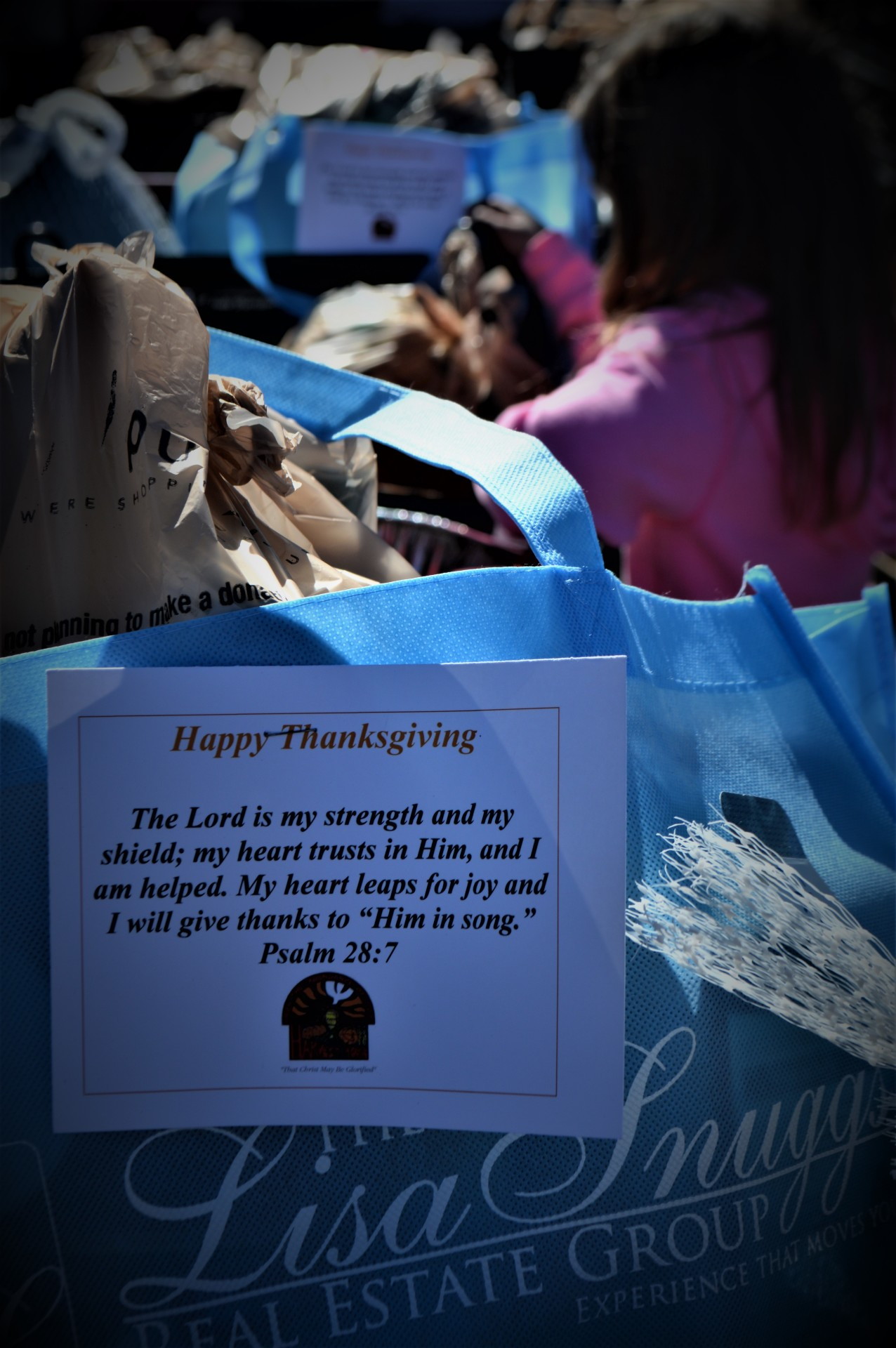Every year we provide Thanksgiving and Christmas meals to those in need.