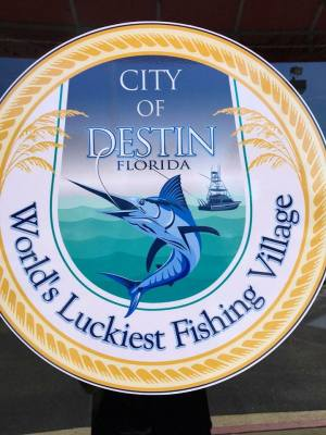 Thank you to the City of Destin