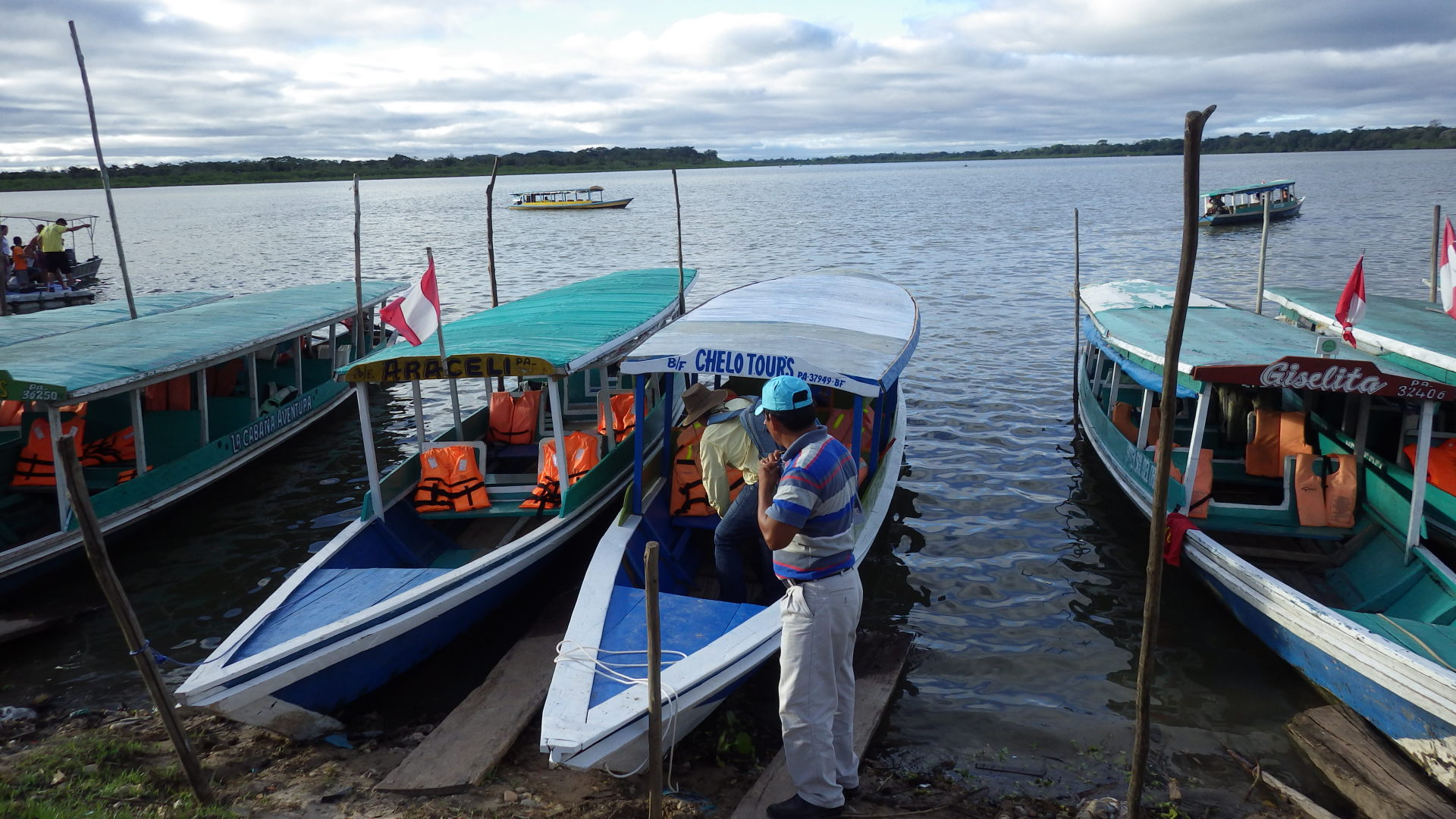 Sunset Cruise Anyone?  Yarinacocha Peru