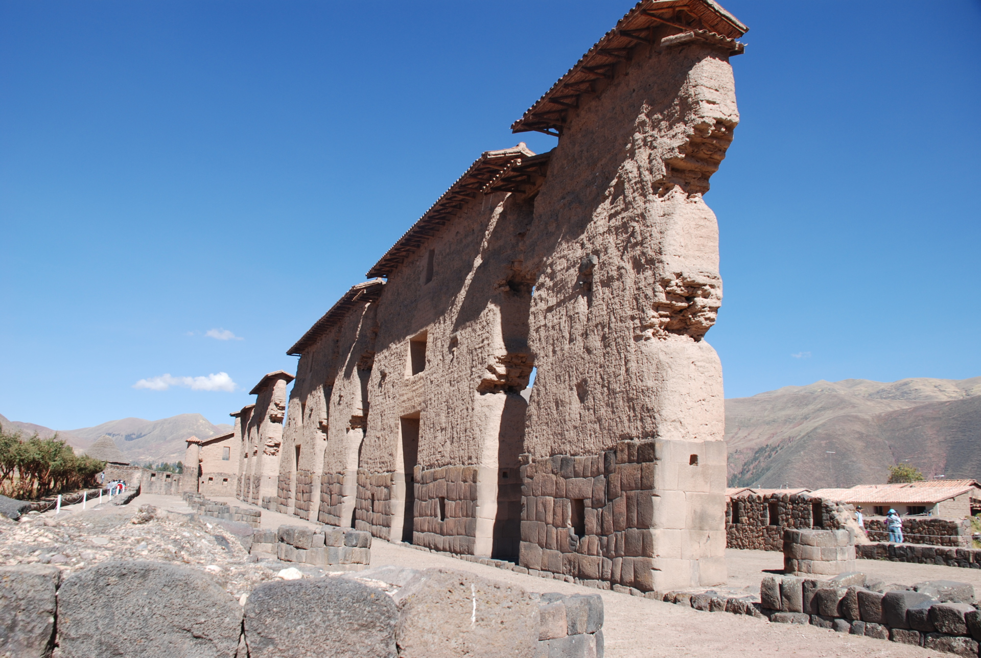 Peru - Remains of Pre-Colonial Religious Center