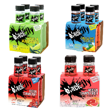 Blackfly Premium Cocktails 4pks