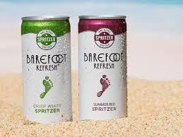 Barefoot Wine Spritzer 4pk Cans