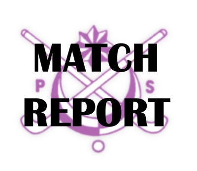 MATCH REPORT 10/11/18