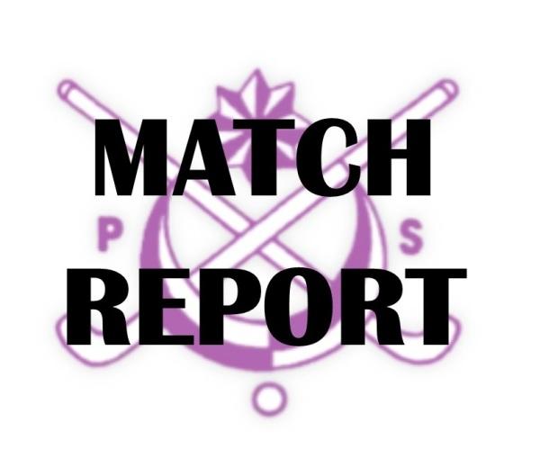 MATCH REPORT 13/10/18
