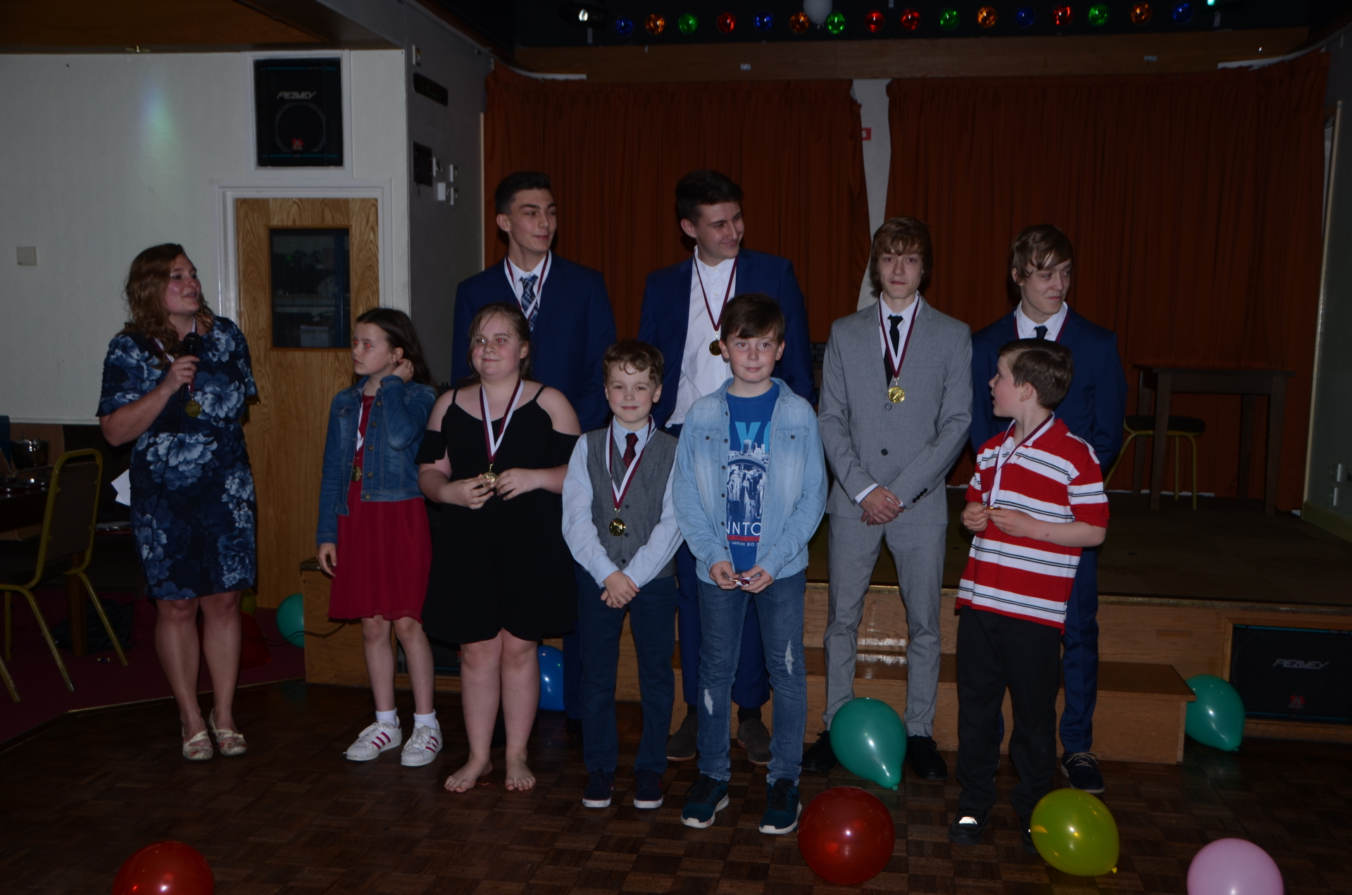 End Of Season Party and Awards Evening 2018