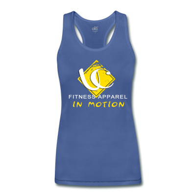 In Motion Collection Women's Bamboo Performance Tank By ALO Royal/Navy