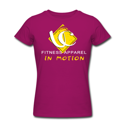 In Motion Collection Slim Fit Tee Raspberry