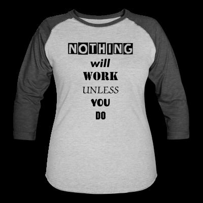 UC Women's 3/4 Sleeve Baseball T-Shirt