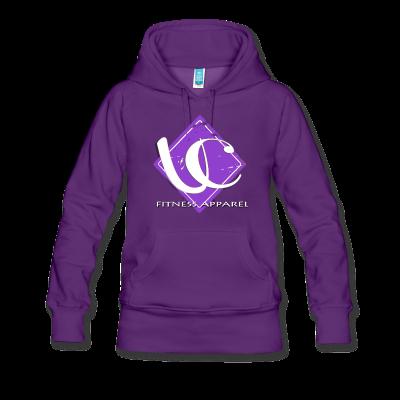 Women's Purple UC Fitness Logo
