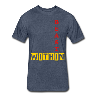 Beast Within Fitted Tshirt