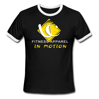 In Motion Collection Black Ringer T