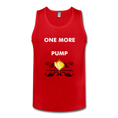 "UC Men's ""One More Pump"" Fitness Tank Top"