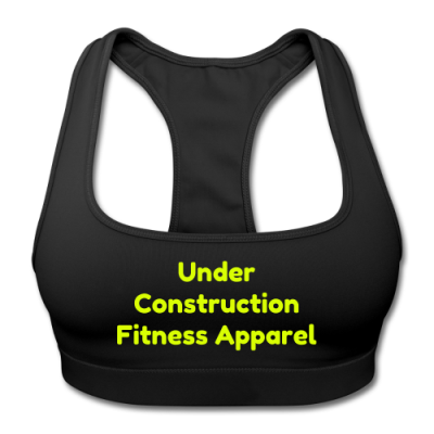 UC Women's Sports Training Bra By American Apparel (Black/