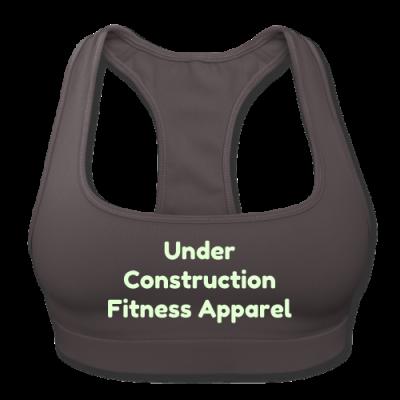 UC Women's Sports Training Bra By American Apparel (Gray)