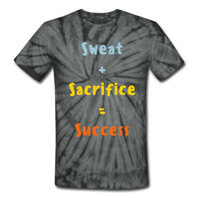 Harder, Better, Faster, Stronger Unisex Tie Dye T-Shirt