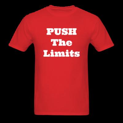 Push The Limits Men's T-Shirt