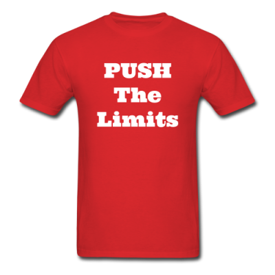 Push The Limits Men's T-Shirt