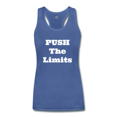 Push The Limits Women's Bamboo Performance Tank by ALL Sport