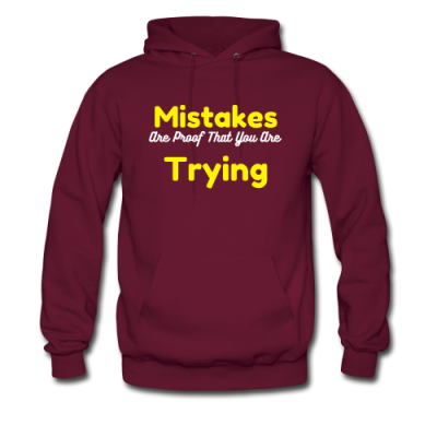 Men's Hoodie Mistakes are Proof that you are trying