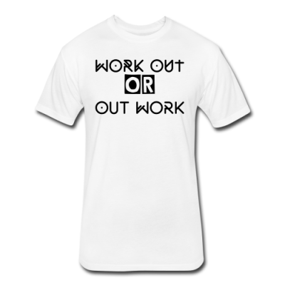 Men's Workout Vs Out Work Fitness T-shirt