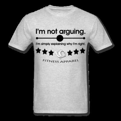 I'm Not Arguing