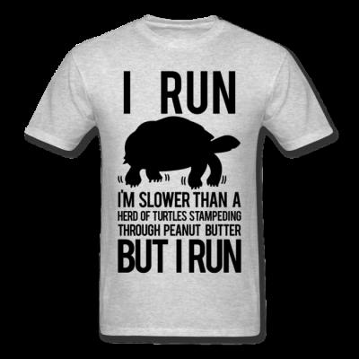 I Run, But I Run