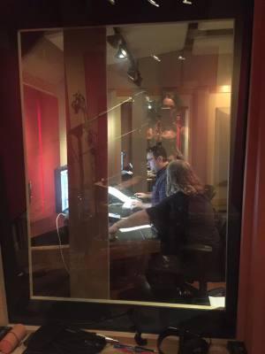Recording at Beaird Studios Nasvhille