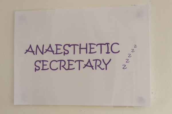 Anesthetic Department 6