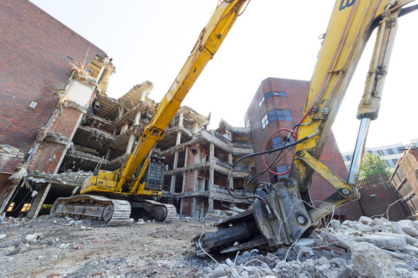 K&S Hospital Demolition