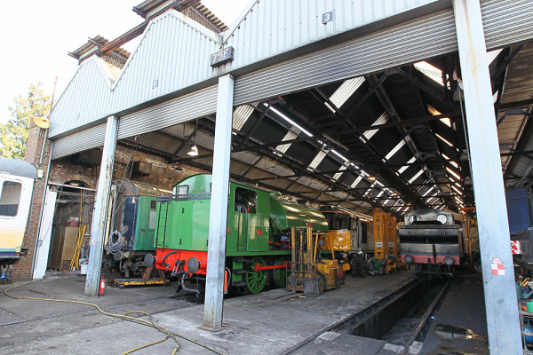 Train Shed 14